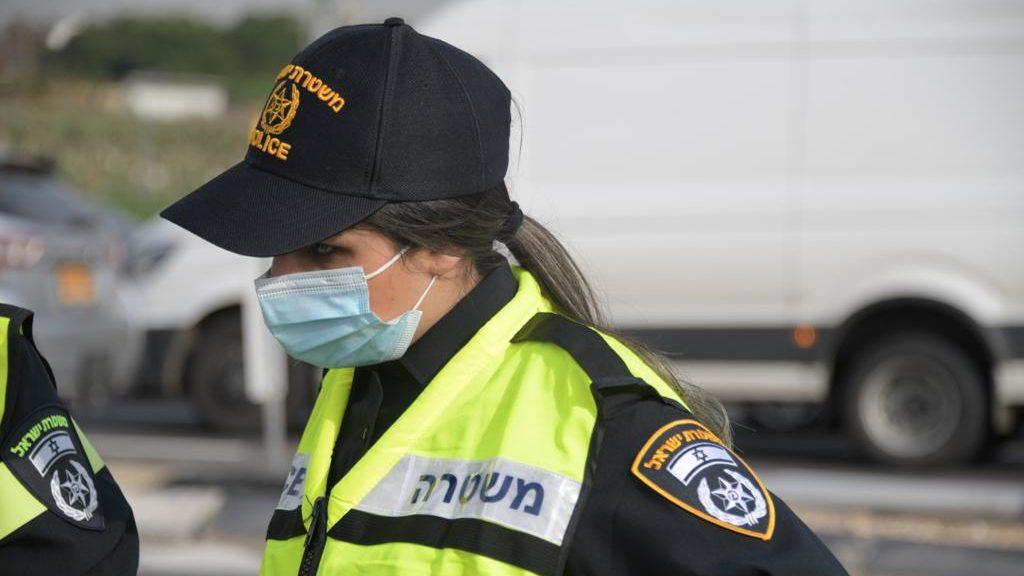 משטרת ישראל החלה במבצע אכיפת עטיית מסיכות במקומות הומי אדם