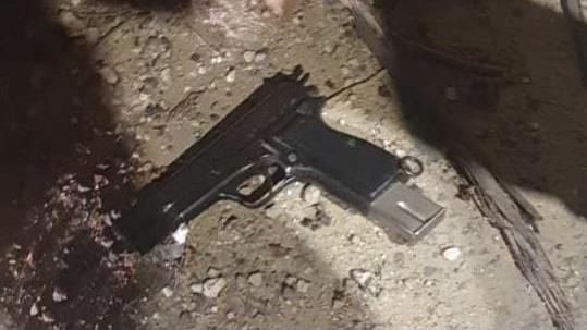 המאבק בפשיעה במגזר הערבי   אקדח, מחסנית ותחמושת הוחרמו בלוד