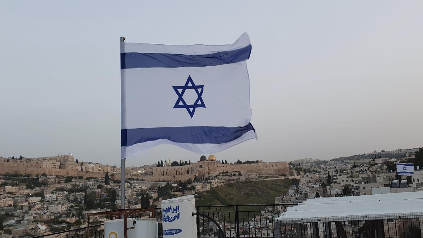 יום השואה: דגלי ישראל הונפו על בתי יהודים בכפר השילוח