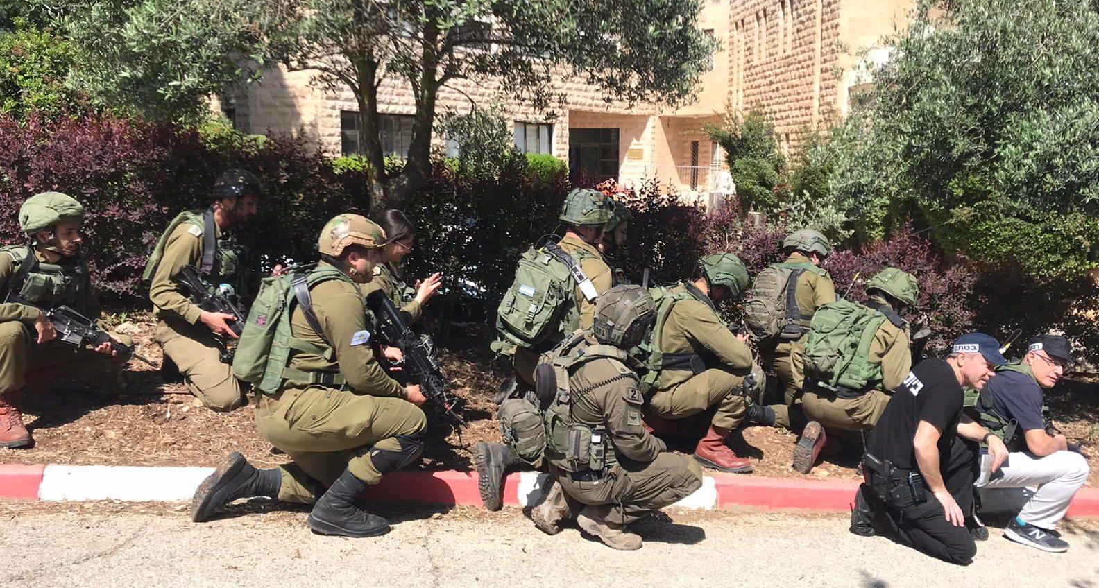 תרגיל בין-ארגוני בחטיבת עציון: ״נהיה מוכנים בצורה הטובה ביותר לכל תרחיש״