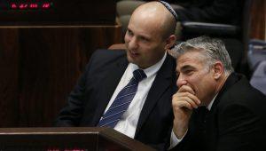 הכנסת אישרה את הקמת ממשלת השמאל של בנט ולפיד