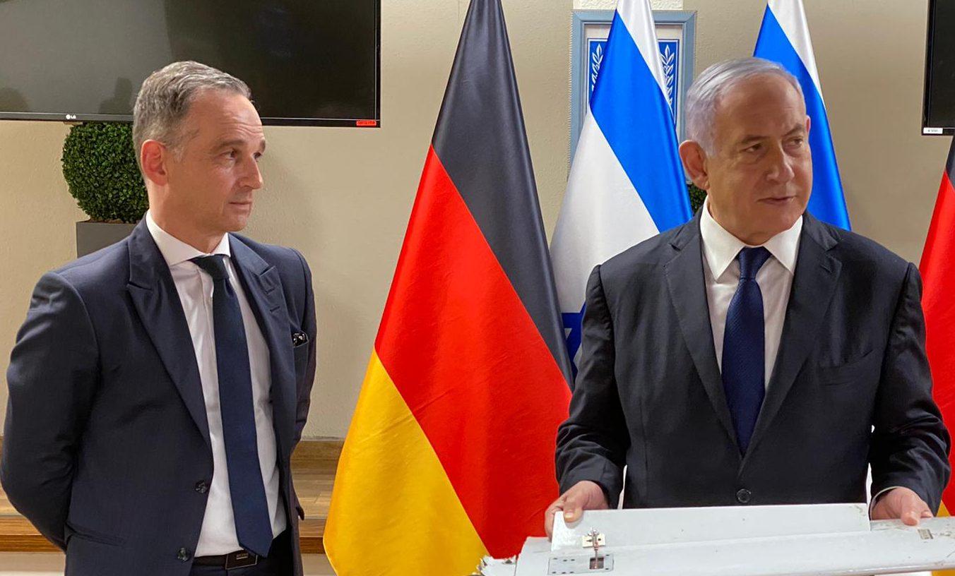 נתניהו לשר החוץ של גרמניה: ״איראן מספקת את התשתיות שעליהן נשענים ארגוני הטרור״