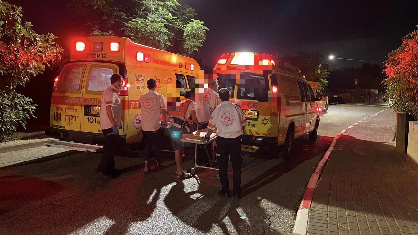 5 בני אדם נפצעו בתאונה סמוך ליישוב ברקת ליד נתב