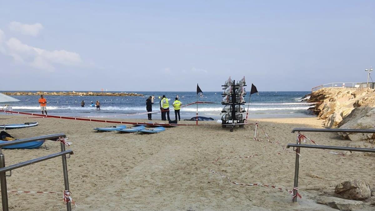 נקבע מותו של גבר שטבע בחוף צ'ארלס קלור בתל אביב