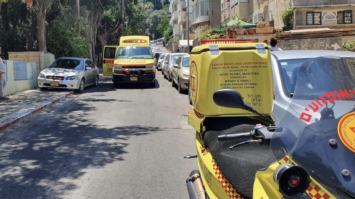 גבר נפצע קשה מפגיעת רכב בעוספיא