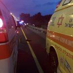 רוכב אופנוע נפצע קשה בתאונה עם מיניבוס בכביש 471