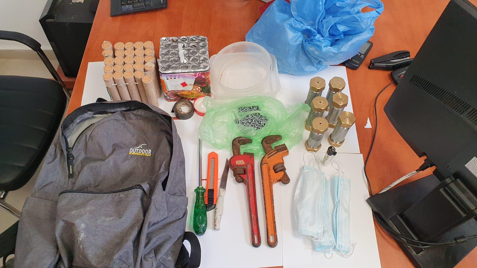 שני תושבי ג'סר א זרקא נעצרו בחשד להחזקת שישה מטעני חבלה