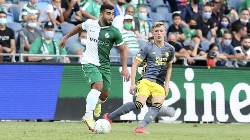קונפרנס ליג   0:0 בין מכבי חיפה לפיינורד, 1:4 למכבי ת״א מול אלשקרט